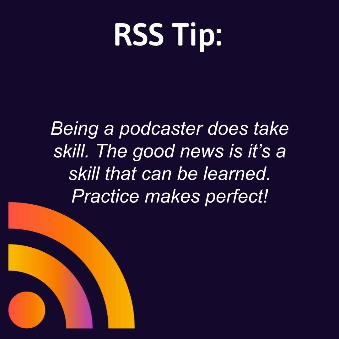 Being a podcaster does take skill. The good news is it's a skill that can be learned. Practice makes perfect! https://t.co/2mW6xv6GLl