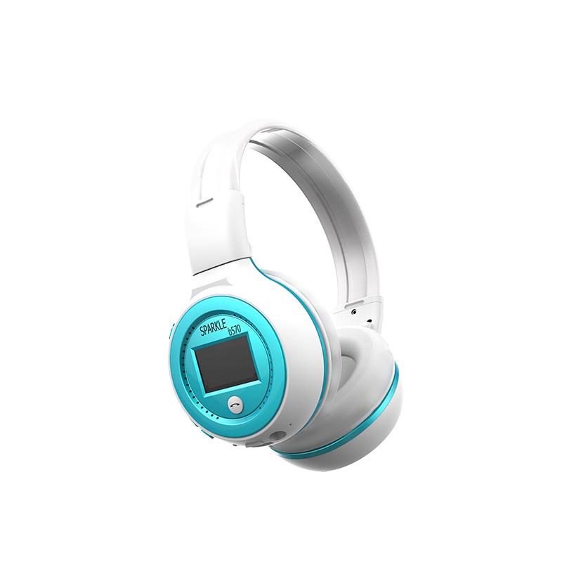 Zealot B570 Wireless Bluetooth Headphone Wireless Bluetooth Headphone Stereo Headset LCD Portable Foldable Earphone mp3 Micro SD Card Slot with MIC hand-free. Click the link below to bid or buy https://t.co/9u9mnY0Y24 #LuckyMallKe #Zealot https://t.co/frKUgSOz0a