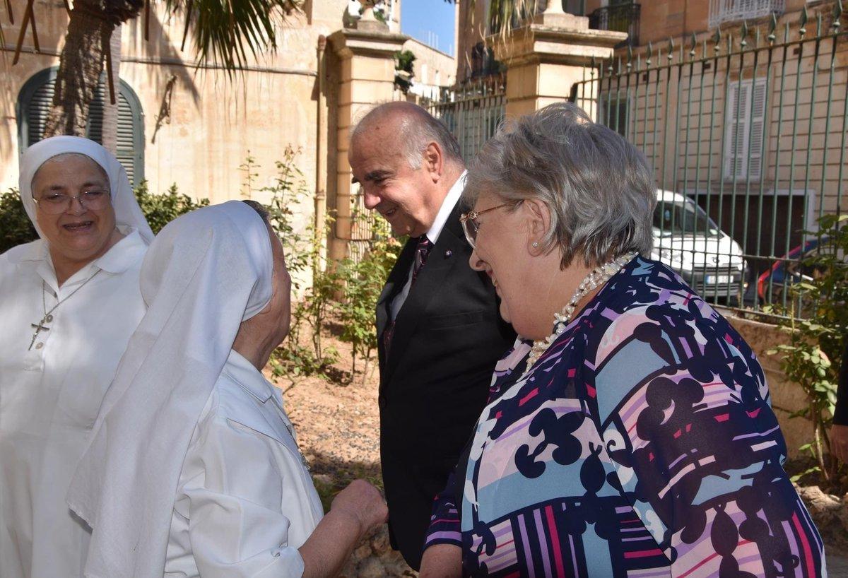 Dalgħodu kelli l-opportunità li niltaqa' mas-Sorijiet u r-residenti f'Fatima House f'Tas-Sliema. Tkellimna dwar iċ-ċirkostanzi li jgħaddu minnhom it-tfajliet u n-nisa li jiġu ospitati f'din id-dar u l-għajnuna li jingħataw sakemm isibu saqajhom u jkunu kapaċi jgħixu ħajjithom. https://t.co/4hs3lVp8gt