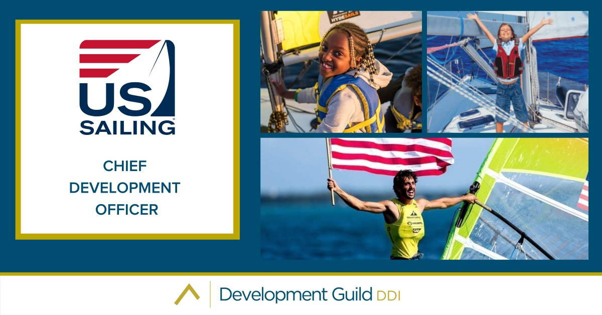 A great opportunity to drive support for sailing in the U.S. and work at US Sailing 👍⬇️