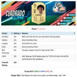 Image for the Tweet beginning: Top Buys 7/6/20  1. Cuadrado 2. Subscriber-Only