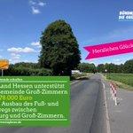 Image for the Tweet beginning: In der Gemeinde Groß-Zimmern wird