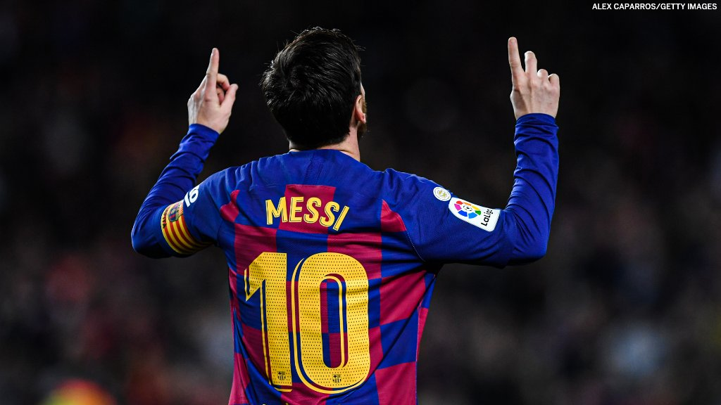 Barcelona scored their 9000th goal yesterday. Lionel Messi has scored 7% of them 😳