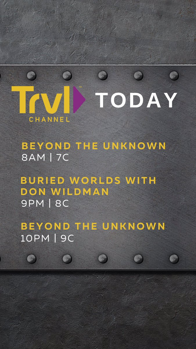 Journey into the unknown! Here's what's on today>> https://t.co/VrkIyE8Bgi https://t.co/AE67iMDnIy