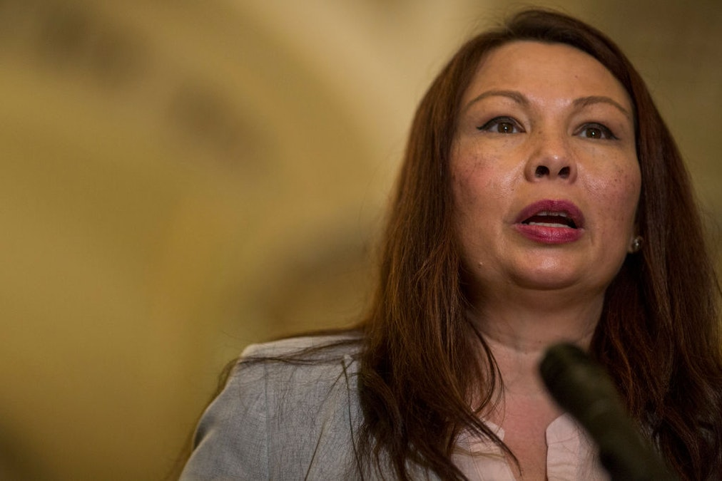 Duckworth Rips Mount Rushmore, Wants 'National Dialogue' About Removing Washington Statues. Here's What She Said Running For Senate Five Years Ago. dlvr.it/Rb2xCx
