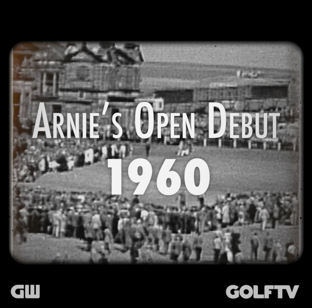 🗓 #OnThisDay 60 years ago A 30-year-old Arnold Palmer made his debut at @TheOpen Championship at St. Andrews.