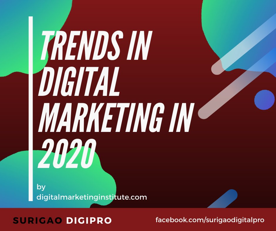 If you don't adapt, you'll surely be left behind. Read on to discover the digital marketing trends to be ready for in 2020.  tweet with Us and let Us know which trends do you practice? #digitalmarketingtips pic.twitter.com/kRvO8MysmJ