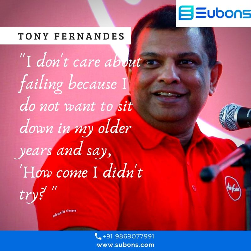 """Tan Sri Dr. Anthony Francis Fernandes PSM SSAP SPMP DPTJ CBE is a Malaysian entrepreneur. He is the founder of Tune Air Sdn. Bhd., who introduced the first budget no-frills airline, AirAsia, to Malaysians with the tagline """"Now everyone can fly"""".   #startup #startupbusiness <br>http://pic.twitter.com/NpydXa5A0R"""