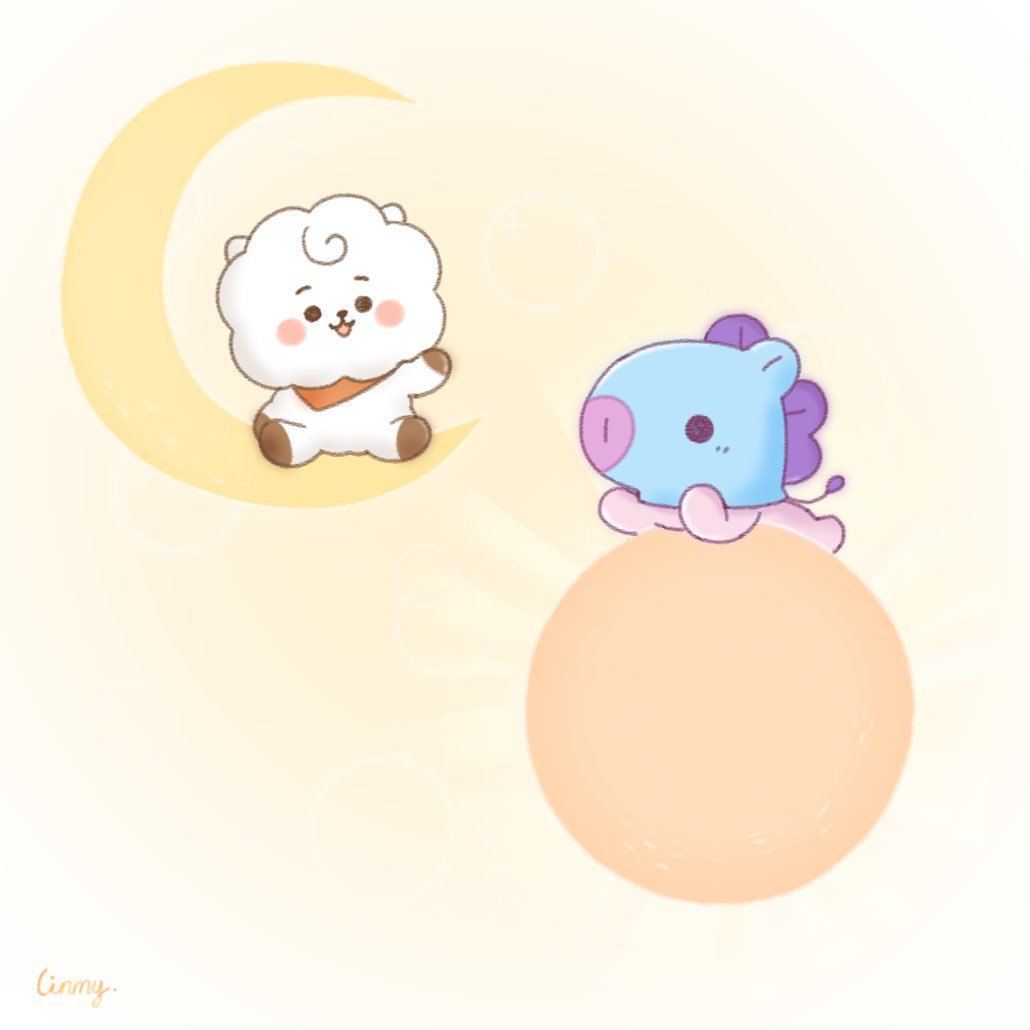 #BT21 #bt21fanart #RJ #MANG #illustration #art #drawing ☀️🌙 https://t.co/8oOa26mjBC