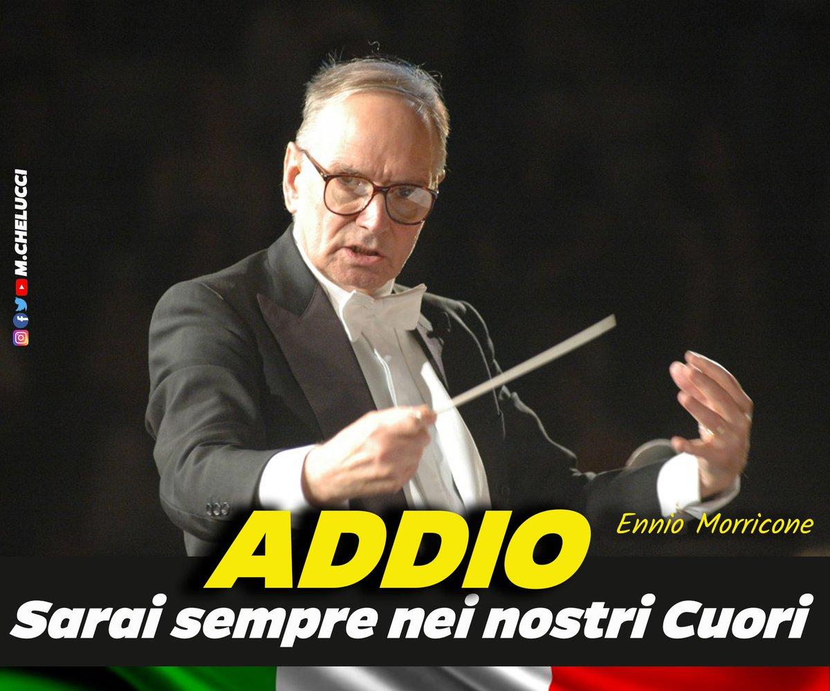 Morto Ennio Morricone