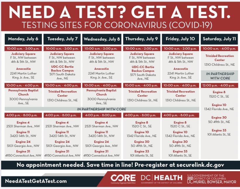 Need a test? Get a test this week needaTESTgetaTEST.com
