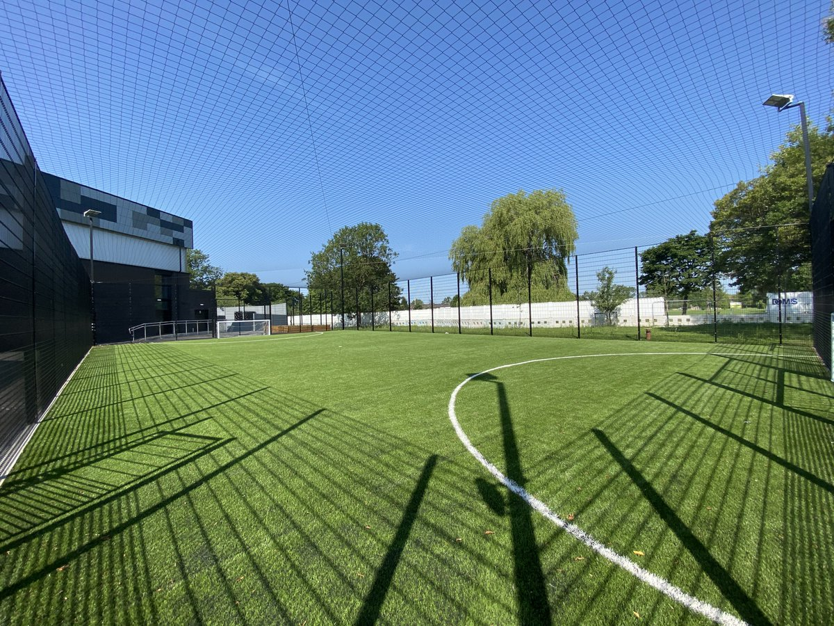 Our 3G kick pitch looking glorious 🤩⚽️ Can't wait to see young people enjoying themselves through sport & fitness at HideOut! #Manchester #YouthWork #Charity #HideOutYZ https://t.co/DaNAkFojlg