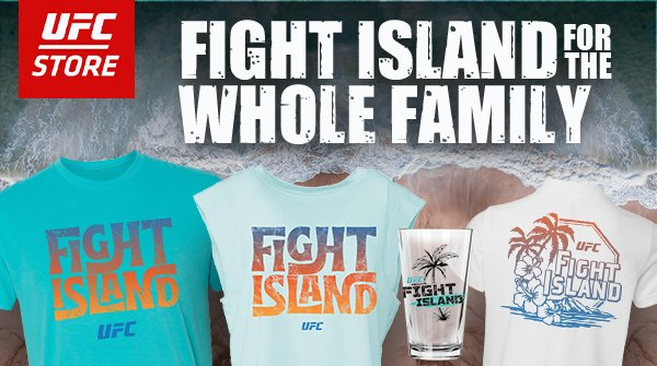 Fight Island is almost here! We've got new gear for you, check it out: https://t.co/3eo9RM2T7H   #UFCFightIsland #UFC #UFC251 https://t.co/mz6FZRC1lf