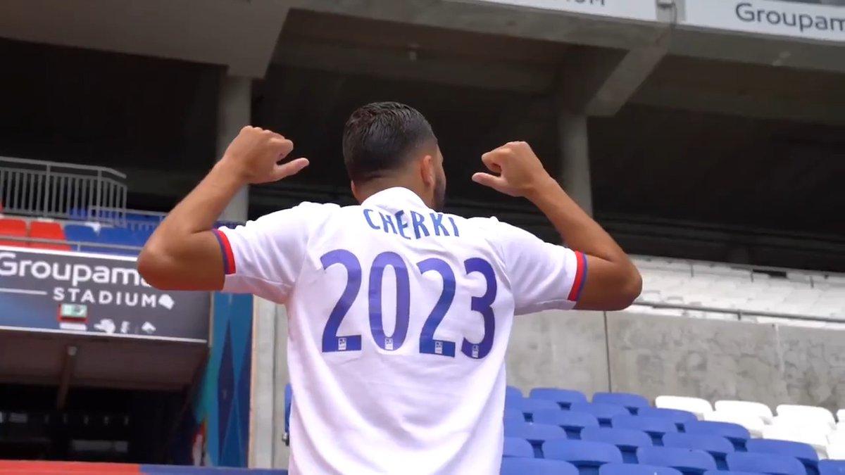 L'OL est très heureux de confirmer la prolongation du contrat de @rayan_cherki d'une saison supplémentaire, soit jusqu'au 30 juin 2023, confortant ainsi la stratégie du club de préparer l'avenir entouré de joueurs prometteurs issus de son Academy et de joueurs expérimentés.