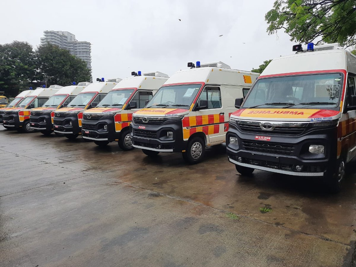 I'm extremely thankful to Tata Group for their active support to covid response. As guardian minister Mumbai, I had requested them ambulances and ventilators. Today, in presence of CM Uddhav Thackeray ji and N Chandra ji they've given 20 ambulances & 100 ventilators to @mybmc https://t.co/ARtNnlCcpH