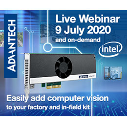Intel and Advantech webinar: Easily add computer vision to your factory and in-field kit  Join our webinar to learn how you can easily add computer vision to your machines and applications, training them to interpret and understand the visual world👉 https://t.co/JGymBfiTAC https://t.co/QZwLdoUS2V