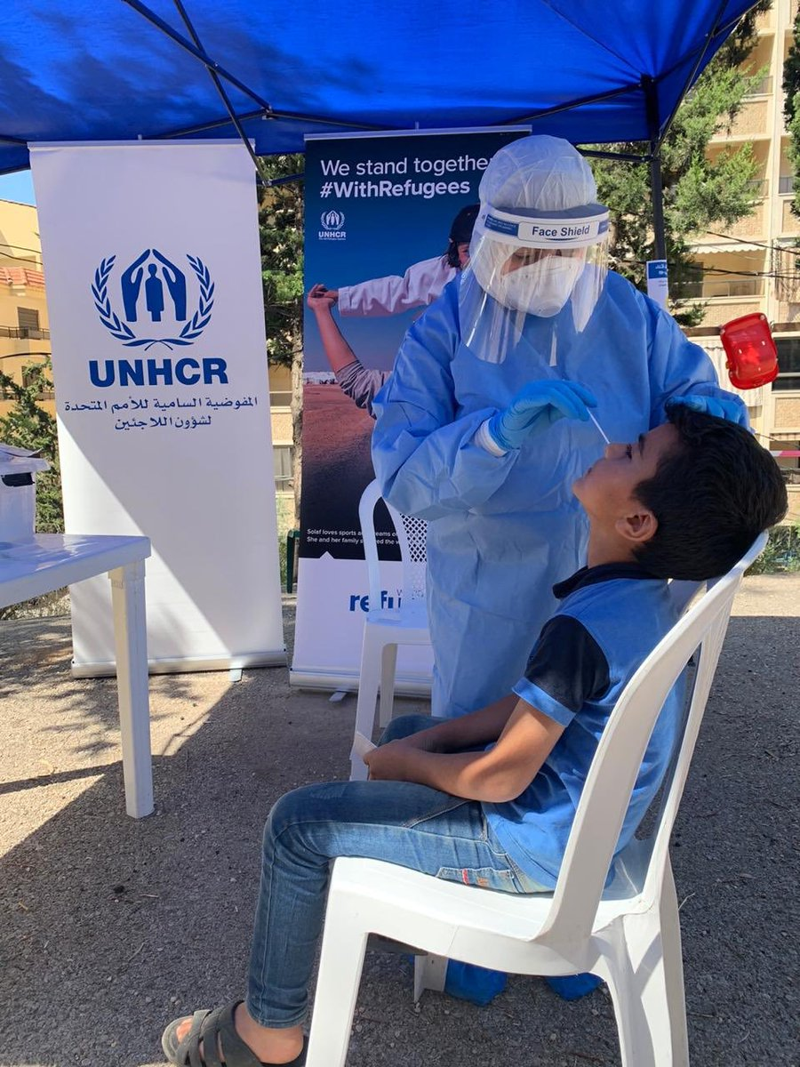 COVID-19 doesn't discriminate, so neither can our response ❌  @UNHCRLebanon is raising awareness, supporting testing and expanding Lebanon's health & hospital system with new equipment + technology to benefit refugee & Lebanese families. https://t.co/WOn5TU9uRA