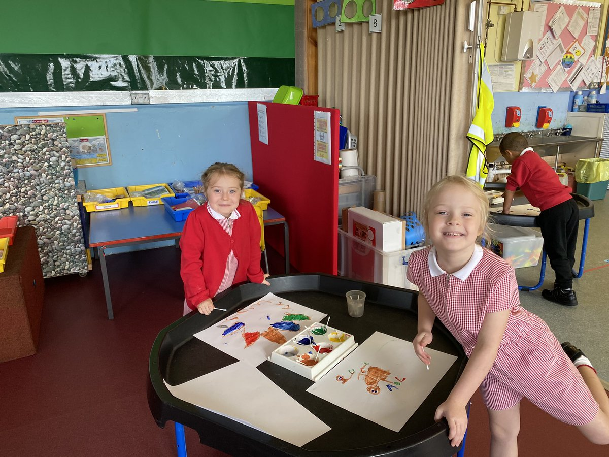 Welcome to our reception children again this week. You seem to have grown again.