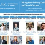 Image for the Tweet beginning: Today! Join #UNCPharmacy for the