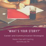 Image for the Tweet beginning: What's Your Story? Registration for