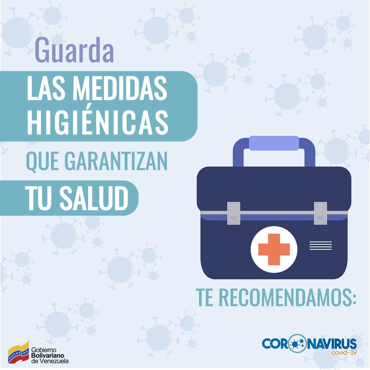 ☣️ #Covid_19    Recuerda que la prevención es la clave para combatir el coronavirus. Sigue minuciosamente las normas de higiene establecidas por la OMS, y vencerás a este enemigo invisible.  #CuarentenaRadicalPreventiva #PrensaFANB #FANB #Venezuela #06Jul https://t.co/Gv7T4gqKGx