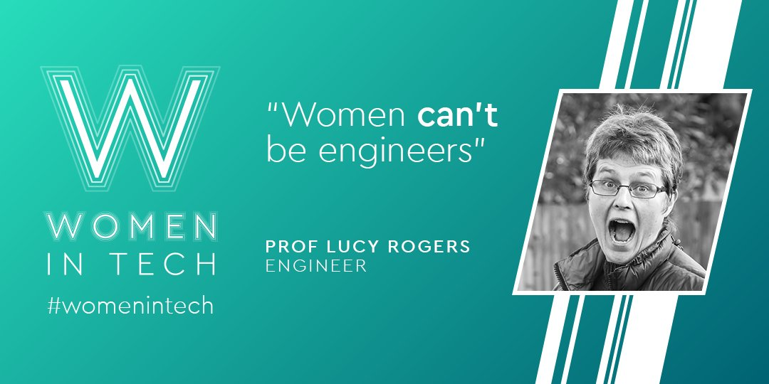 'Women can't be engineers' - Meet a woman who proved them wrong @DrLucyRogers https://t.co/Czhzk0ZRCG #diversity #GirlsinStem #WomeninSTEM #MondayMotivation https://t.co/Yg5V58GqPr