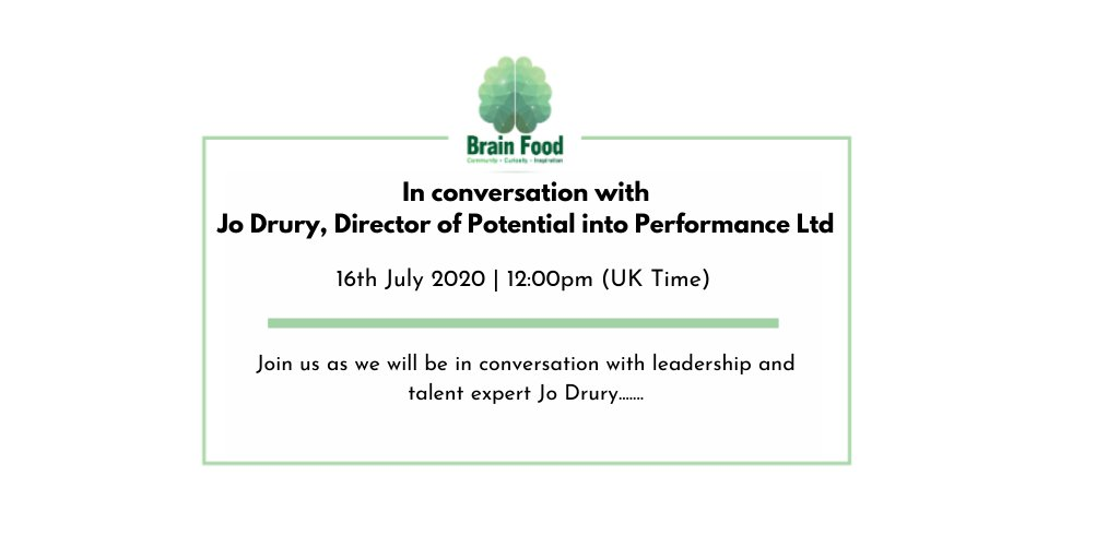 How can organisations craft a better #diversity and #inclusion working environment for their people? You can now ASK the expert, we will have Diversity and Inclusion Expert Jo Drury in the hot seat. Secure your place for #FREE here: https://t.co/t8QtzjkMOl https://t.co/uRYt8HthTv