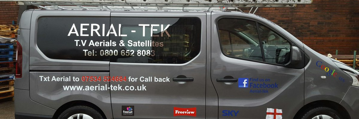 """Check out: AERIAL-TEK @andybwfc  """"Tv aerial and satellite installations covering the north west including Lancashire Cheshire and greater manchester""""  Location: Bury, England https://t.co/fZIexXMH1h  #tv #satellite #cheshire #lancashire #manchester https://t.co/7H8zGjbgVE"""