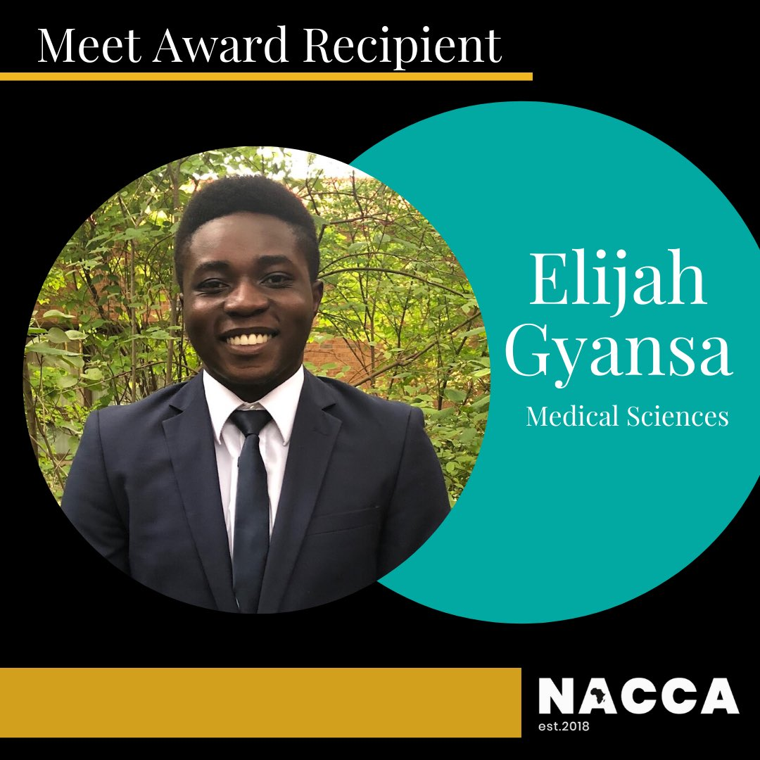 As member of President's council he used his leadership skills to empower his peers to take action, creating awareness& safe spaces for racialized youth& helped end mental health sigma.Elijah is prepared to succeed in the Sciences at UofWestern. Congrats, NACCA is so proud of u!<br>http://pic.twitter.com/coX4kN98Uz