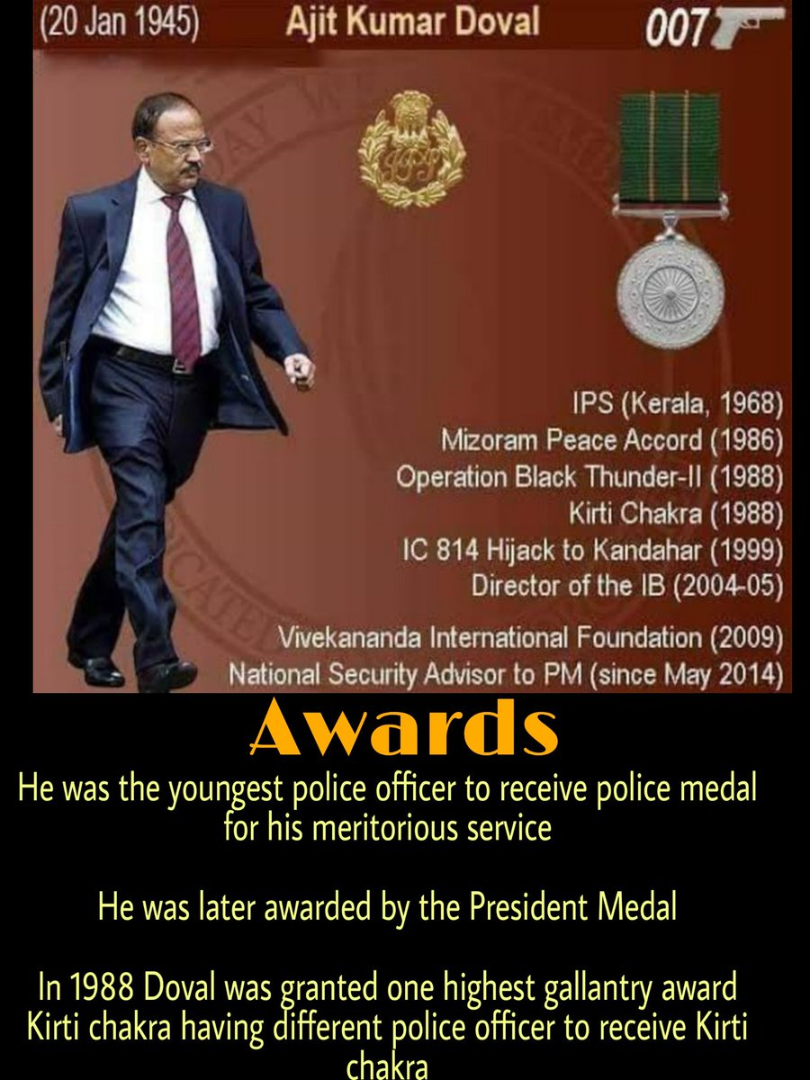 Awards honoured to him  #intellience #IPS  #indianpoliceservices #civilservices #upsc #ipsmotivation #army  #dawoodibrahimpic.twitter.com/gKpFtY4Bhk
