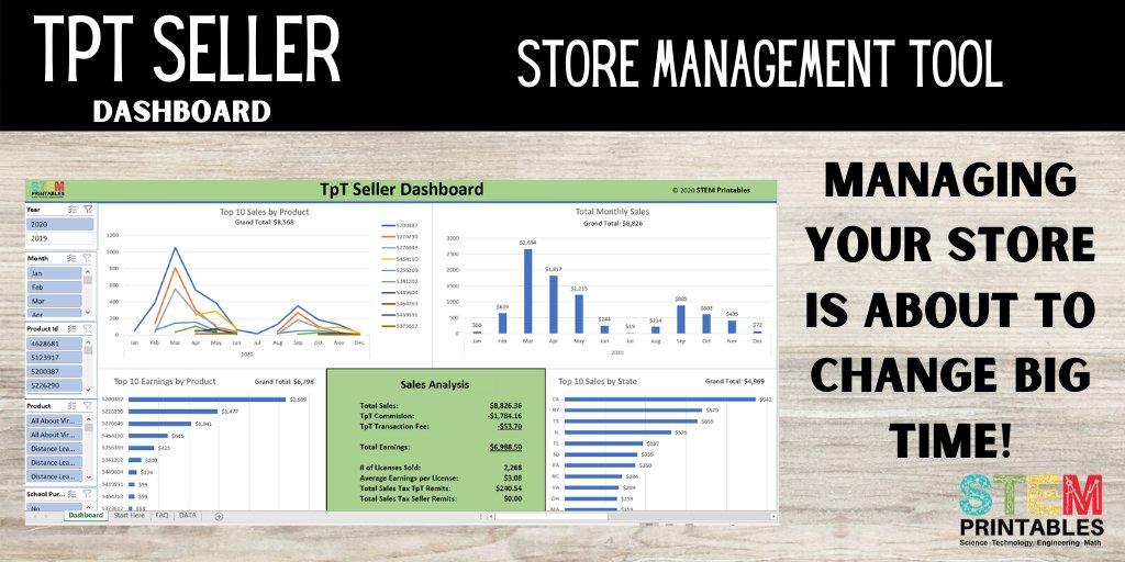 Managing Your TpT Store Just Got A Whole Lot Easier! #TpT #TeachersPayTeachers #TeacherEntrepreneur #Start https://t.co/5v9FEuAeal https://t.co/3bv1eaWqyV