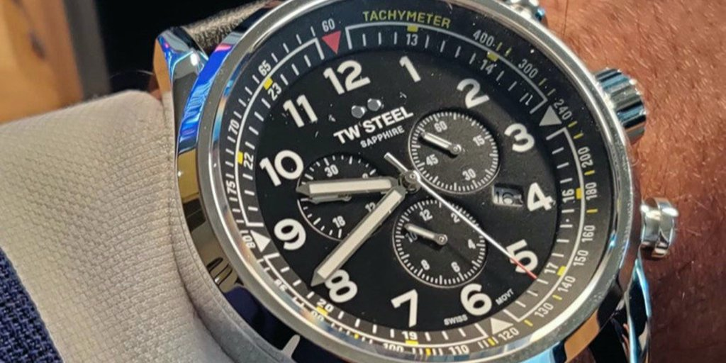 Our #SwissVolante timepieces drive your style into a new direction.  Is there one in your collection?  For the chance to show off your favourite timepiece on our social, take a picture and tag it #myTWSteel. 👇  #TWSteel #Timepiece #WatchLovers #Watch #WatchCollection https://t.co/ydFYvlHw7L