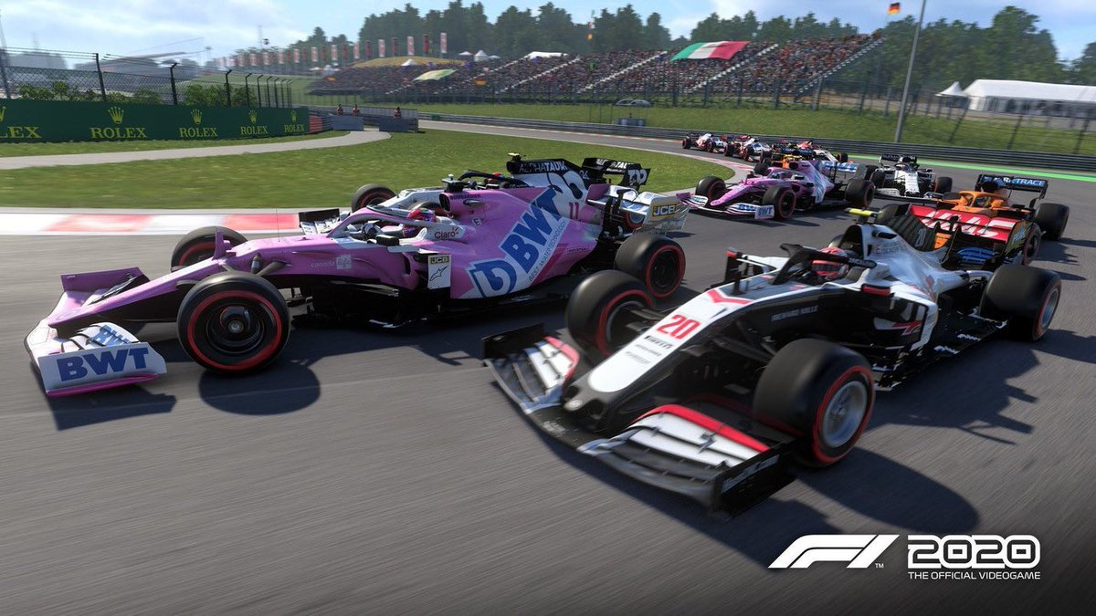 """There is a small difference between """"PLAY"""" a game together and """"BE"""" my game.  Tonight, first live into @Formula1game 2020, my team mode!  Follow me live at 7.00 BST tonight for a new way of streaming.  Don't miss it 🔥‼️ ⏬⏬⏬⏬⏬⏬⏬⏬⏬⏬⏬⏬  https://t.co/wKLVBcIb5a  #F12020 https://t.co/US4SnjiIYv"""