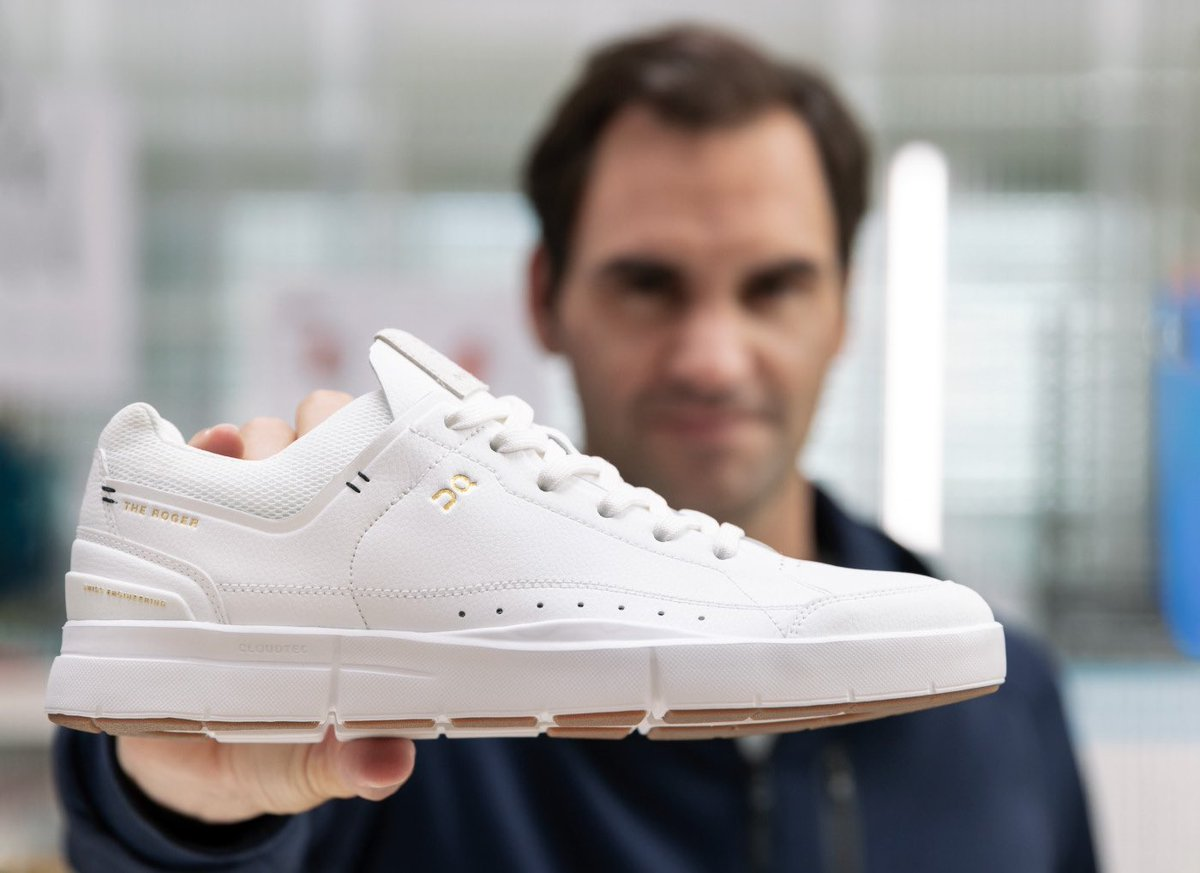 .@rogerfederer is making a new name for himself in sneakers with Swiss brand, On.  READ MORE: https://t.co/63yUovt8Nm https://t.co/4HXeBPmMBt