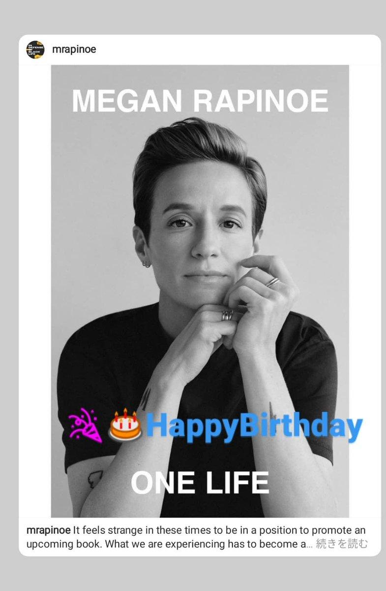 @Angels @56Mememememe HappyBirthday Madame MeganRapinoe @mPinoe Too  SameDay Birthday #BallondOr #FIFA #WorldCup @FIFAcom