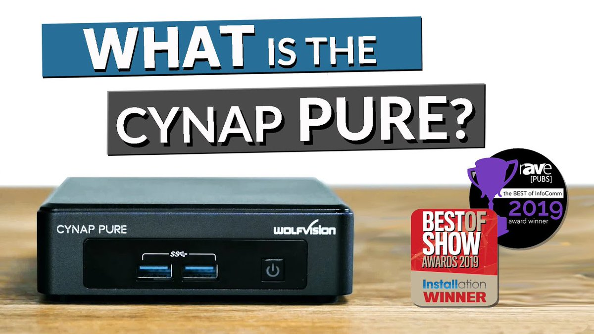 Everybody's talking about 'touchless meetings' at the moment! Take a look at this Cynap Pure video intro & see how easy it is to eliminate cables, PC & dongles from your collaboration spaces!!! #BYOD #wireless #presentation #postcovidworld https://t.co/mEzBswgyj0 #avtweeps #ITRTG https://t.co/jaAtiDLRYp