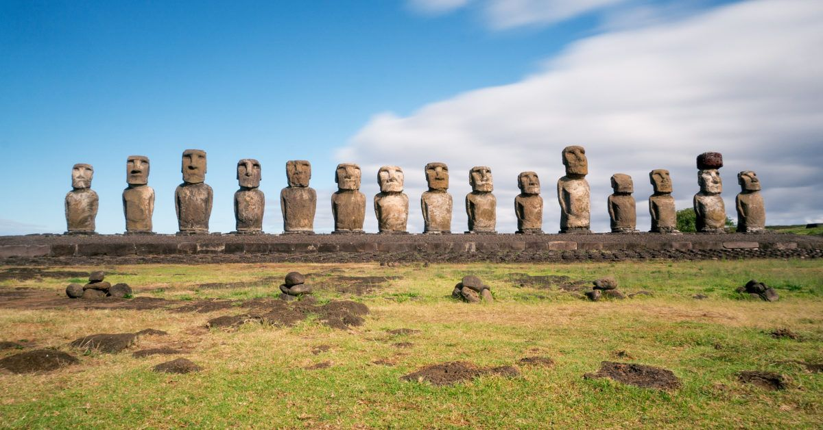 "Image for the Tweet beginning: Rethinking Easter Island's Historic ""Collapse"""