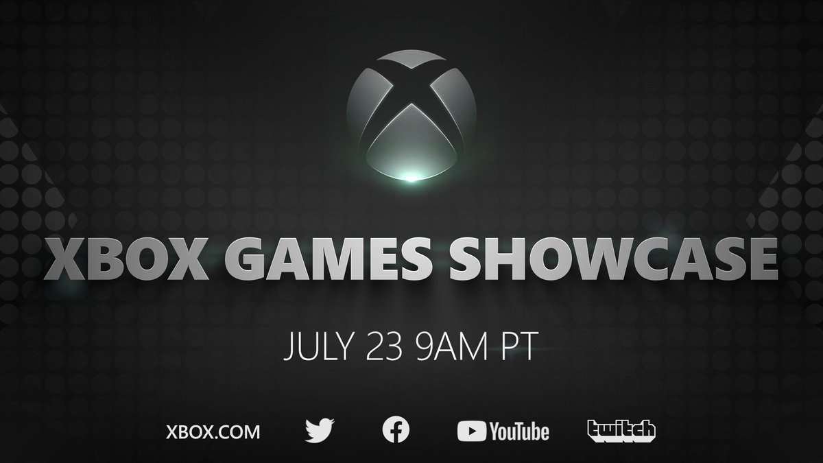 🎮 Xbox Games Showcase 📅 July 23rd ⏰ 9am PT  @SummerGameFest Pre-Show at 8am PT with @GeoffKeighley on @YouTubeGaming  #XboxGamesShowcase https://t.co/zGr5AnFwic
