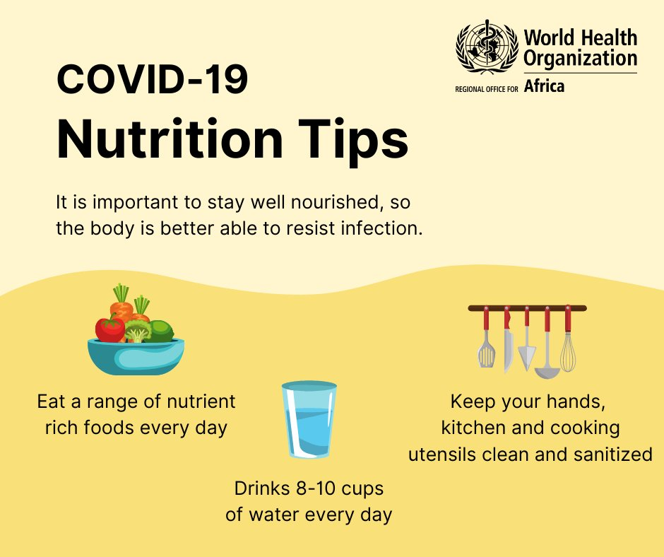 Good #nutrition is vital for good health 🍎  While no one food or supplement can prevent illness, it's still important to keep healthy during the #COVID19 pandemic by eating nutritious foods. https://t.co/5CC56jUC6b