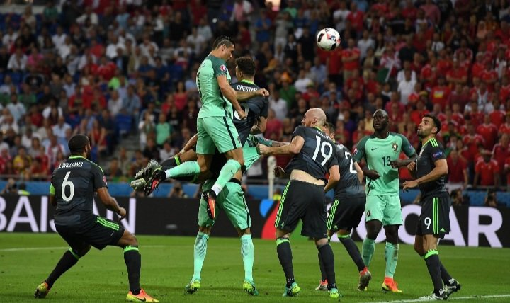 #OnThisDay in 2016, Cristiano Ronaldo scored an header and gave an assist in the Semi Finals of Euro vs Wales and led Portugal to the Final.