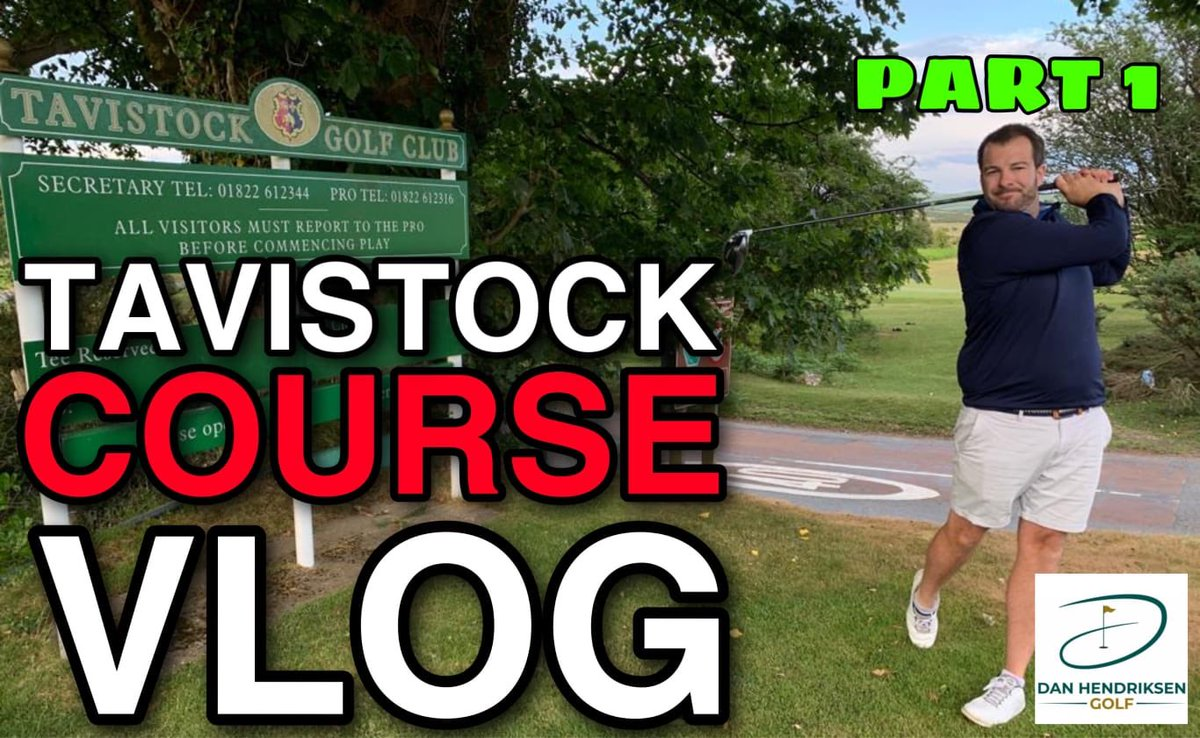 @JimboJettGolf is our star guest this week with @LesterBarnesy & @golf_whittaker 👇👇👇👇👇👇👇👇👇👇 TAVISTOCK GOLF CLUB COURSE VLOG PART 1 youtu.be/IJow9919JWg via @YouTube