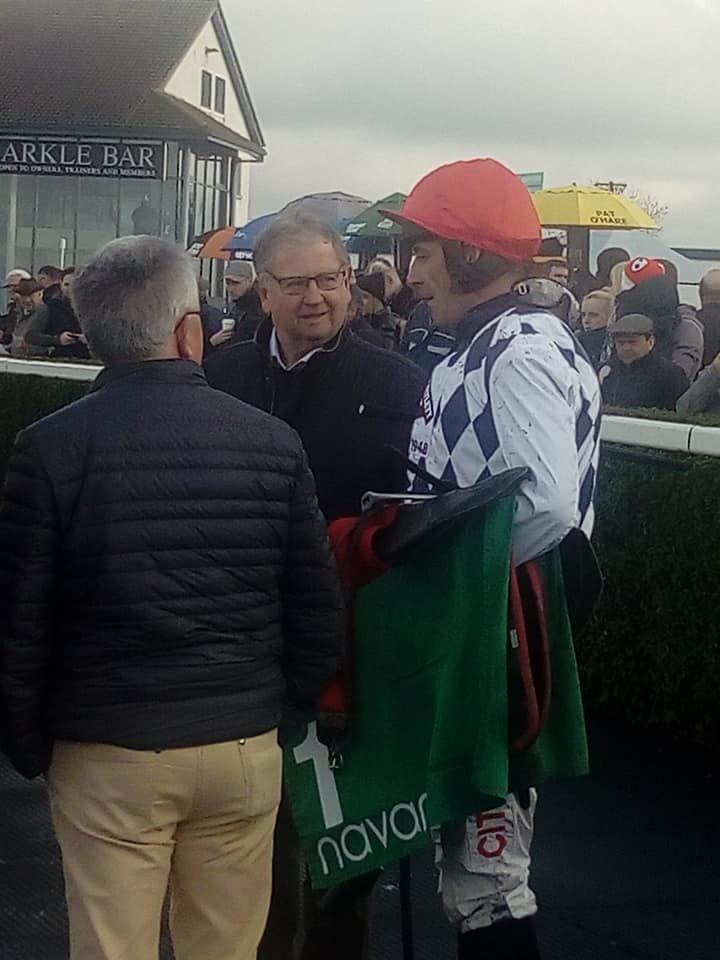 January 2019 @NavanRacecourse  #GALVIN  @gelliott_racing @_Davy_Russel_  added to wins @PerthRacecourse @LimerickRaces @RoscommonRaces  Made it 5 @ayrracecourse  2nd @CheltenhamRaces  Proverbial Penalty kick @BoyleSports Chase @KillarneyRaces 7pm tomorrow #HorseRacing #Killarneypic.twitter.com/gmnPzfnyd4