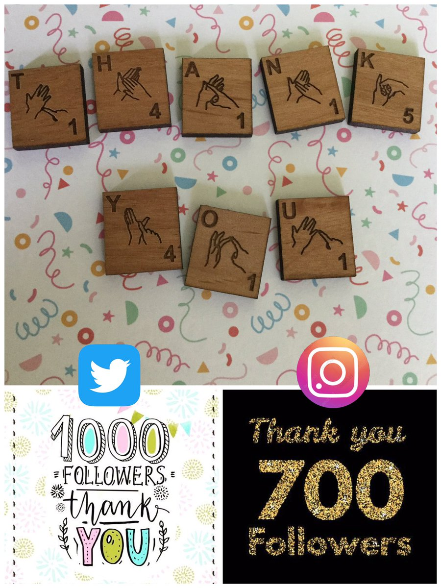 Wow! Following us reaching 1000 followers here on Twitter we finally broke the 700 mark over on Instagram over the weekend. We have struggled to gain followers over there (they aren't as friendly as you guys 🤭) so chuffed to have 700 🥰   #womaninbizhour https://t.co/sutiYwIDOp