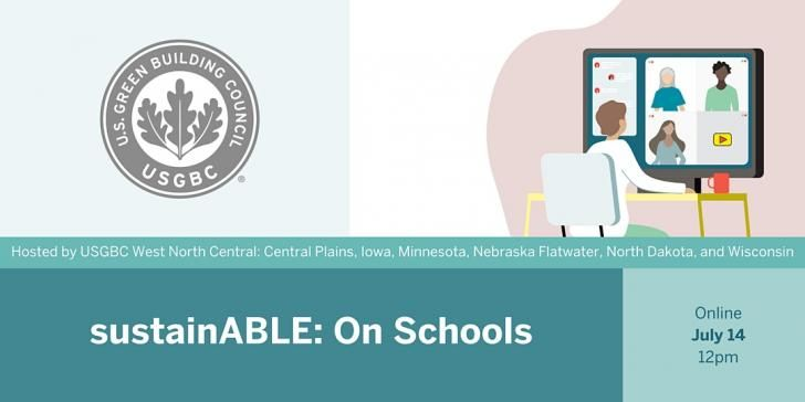 Webinar: SustainABLE: On #Schools, July 14, 1pm EDT: https://t.co/oFydF2A0aS @USGBC @LPSorg @mygreenschools #greenschools #sustainableschools #healthyschools #education #outdoorlearning #greencleaning #cleaning #sustainability #health #equity #safety #COVID19 #greenbuilding https://t.co/vnmT3K8Xjh
