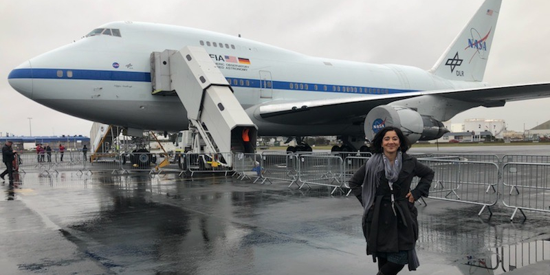 I wanted to be an aerospace engineer to understand the larger universe we are all a part of. I'm inspired by every discovery we make with SOFIA... Meet Hina Kazmi, project manager at @NASAAmes and @WomenNASA: go.nasa.gov/2ZHTUZV