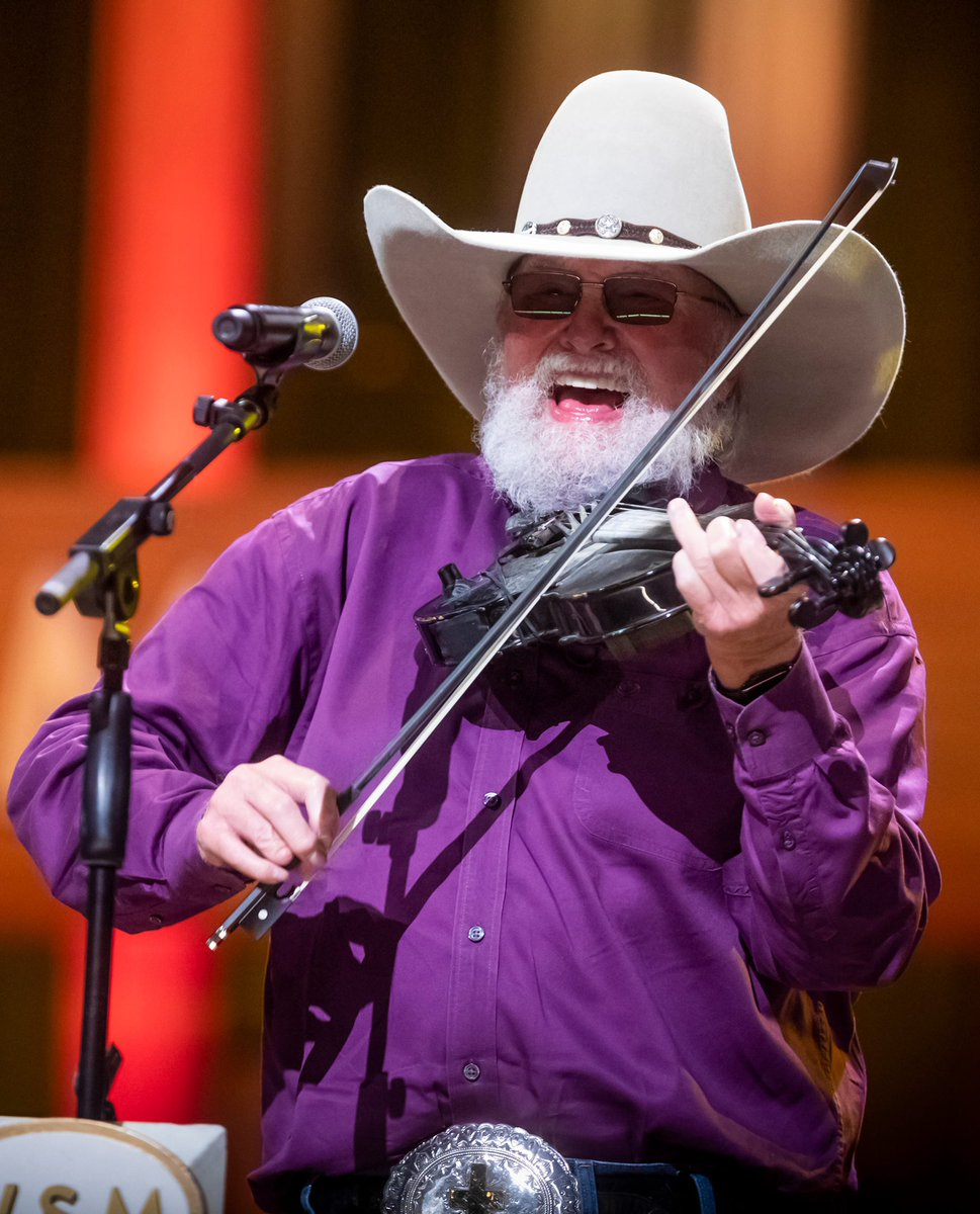 (1/2) Today I have a very heavy heart as I reflect on the legendary Charlie Daniels. It's true that meeting your heroes is dangerous because more often than not, they disappoint you. Charlie was the exception. I absolutely cherished his friendship. (Con't) @CharlieDaniels
