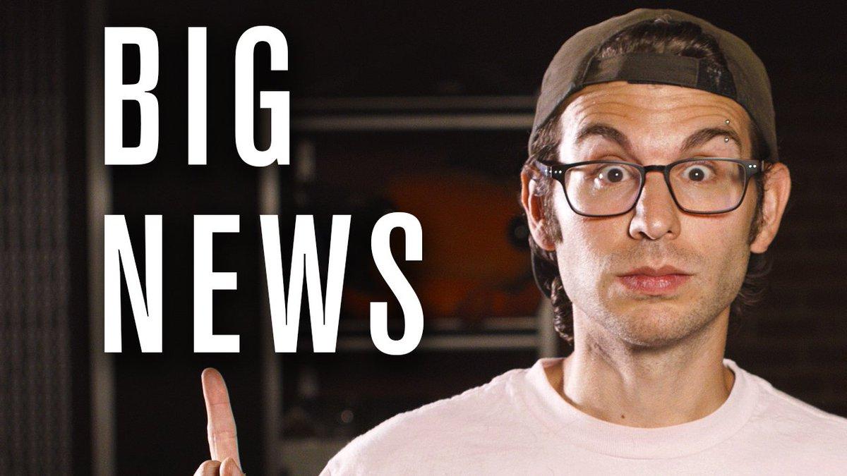 BIG news [new vlog] --> https://t.co/2ywQwojLCB https://t.co/XrQGJacw5S