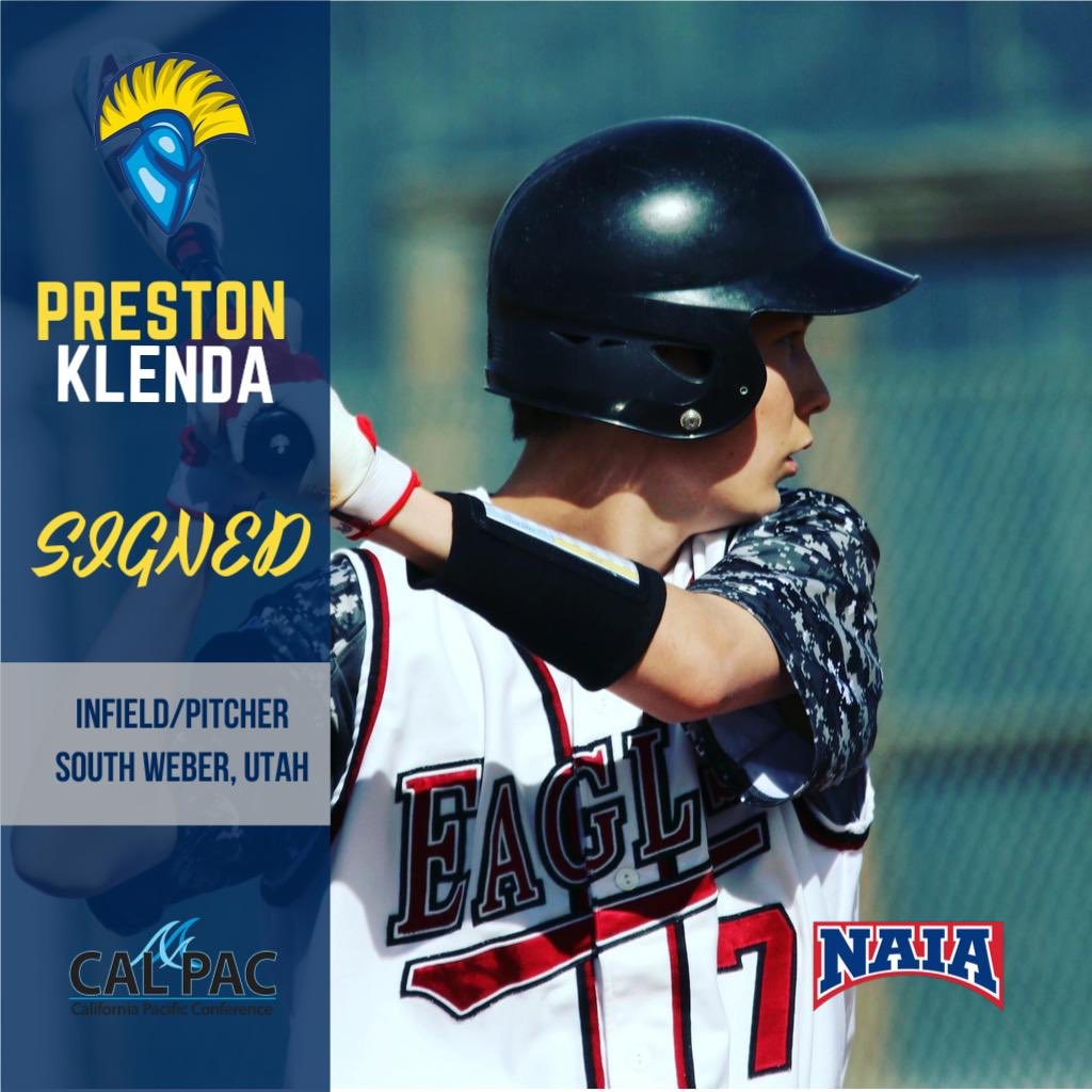 Welcome to the Warrior Family, Preston Klenda!  • • • #GoWarriors #baseball #NAIA #collegebaseball #Team2 https://t.co/56KQHafS2z