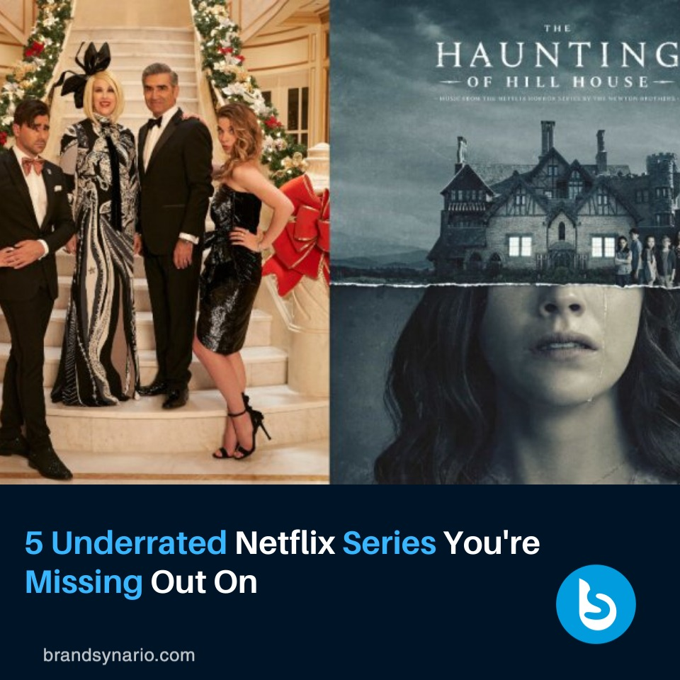 How many of these #Netflix shows have you binged?  https://www.brandsynario.com/5-underrated-netflix-series-youre-missing-out-on/…pic.twitter.com/vSkvJBHXK8