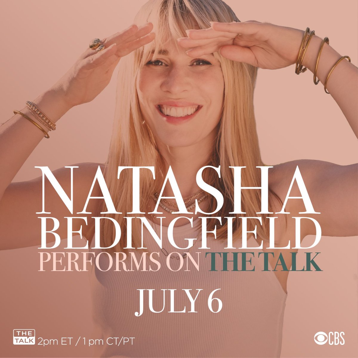 I'm ready to talk with @TheTalkCBS ladies! I'll also be performing my new song #TogetherInThis for you all at 1pm PT. Can't wait! 💛  #JungleBeatTheMovie https://t.co/q2t92X7xBZ